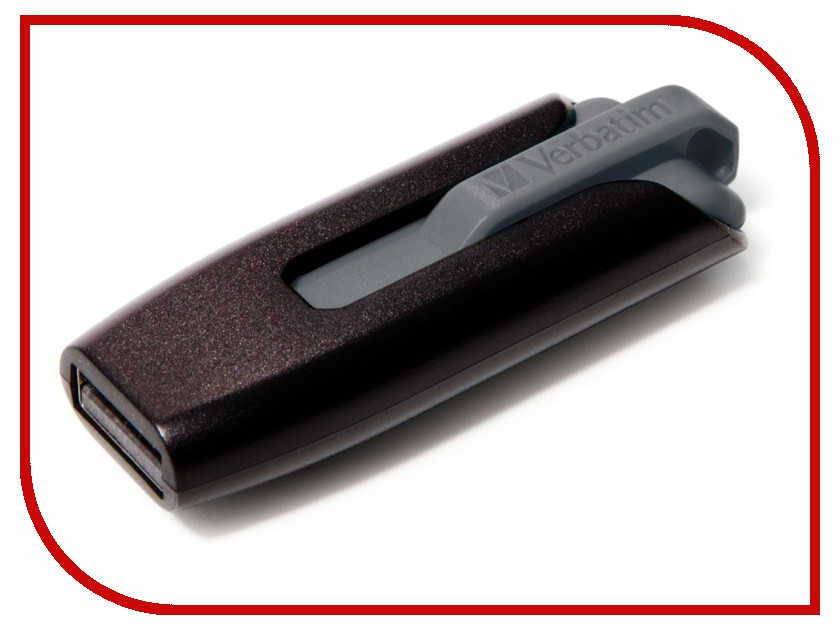 USB Flash Drive 32Gb - Verbatim Store n Go V3 49173 Black/Gray