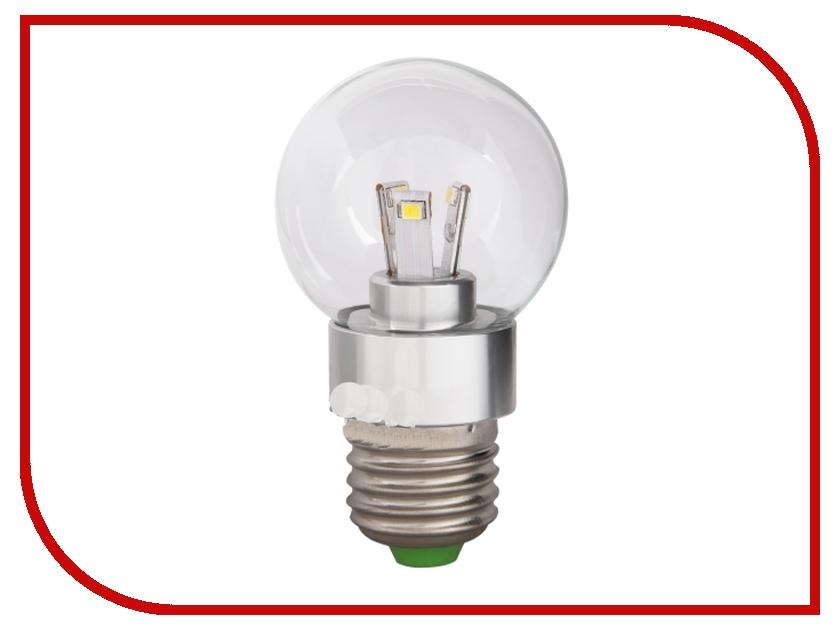 Лампочка GLANZEN LED E27 5W 2700K 220v LEW-0013-27<br>
