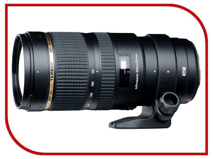 Объектив Tamron Nikon SP AF VC 70-200 mm F/2.8 Di USD объектив tamron sony minolta sp af 24 70 mm f 2 8 di usd