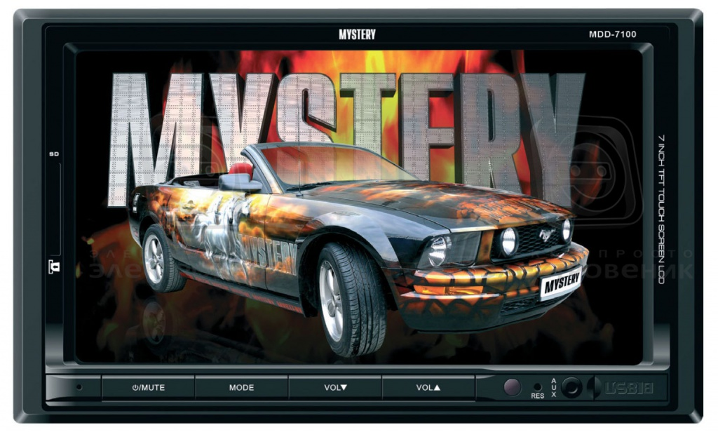 Автомагнитола Mystery Mdd-7100 Инструкция