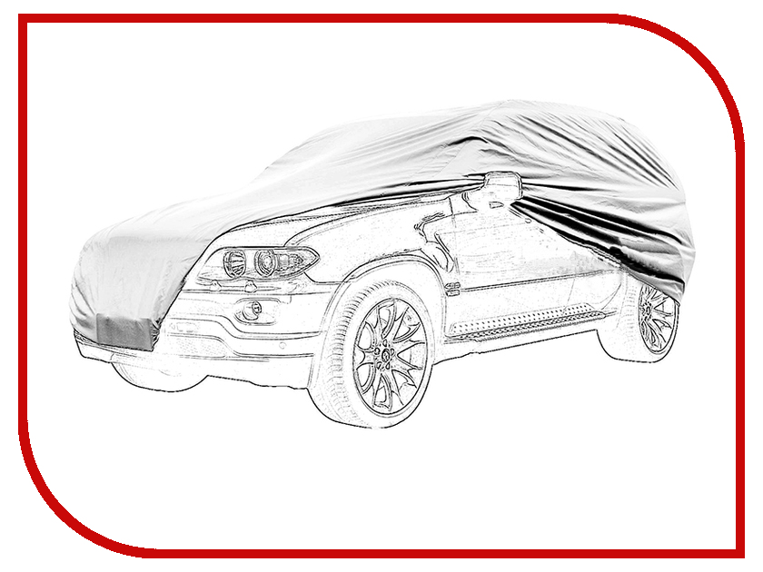 Тент Тент для внедорожника XL AutoStandart 102110 Silver<br>