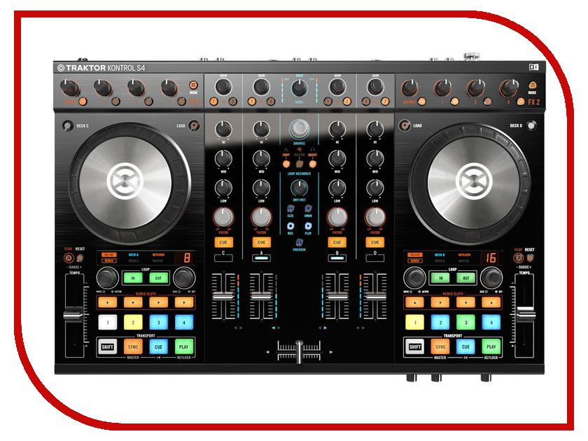 Dj контроллер Native Instruments Traktor Kontrol S4 Mk2 стоимость
