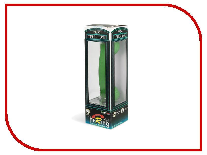Гарнитура Hi-Fun Hi-Ring mini Green<br>