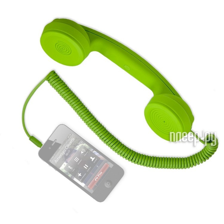 ��������� Hi-Fun Hi-Ring ��� iPhone / iPad / iPod Touch / Galaxy S II Green
