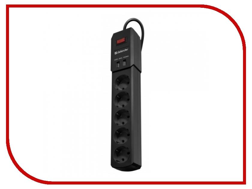 Сетевой фильтр Defender DFS 453 5 Sockets 3m 99043