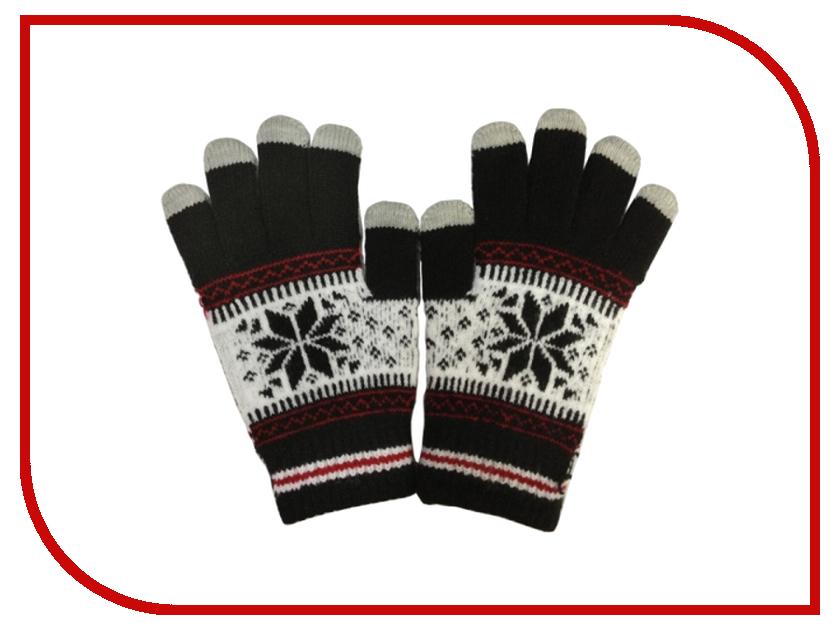 Теплые перчатки для сенсорных дисплеев CBR / Human Friends Fiver FD383 Black