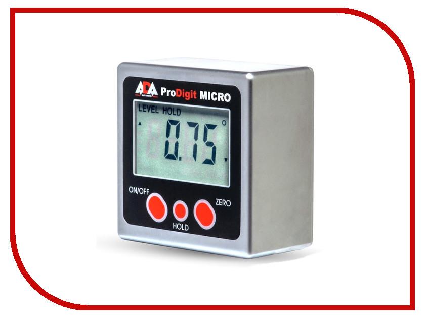 Угломер ADA ProDigit Micro А00335 цифровой уровень ada prodigit 30