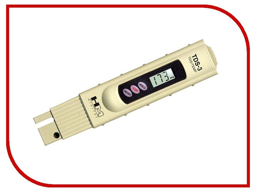 HM Digital TDS Meter 3 - солемер rz rz605 lcd display digital wood moisture meter