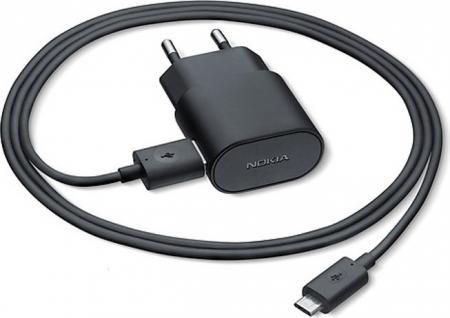Аксессуар Зарядное устройство сетевое Nokia AC-60E Black (100% ОРИГИНАЛ)