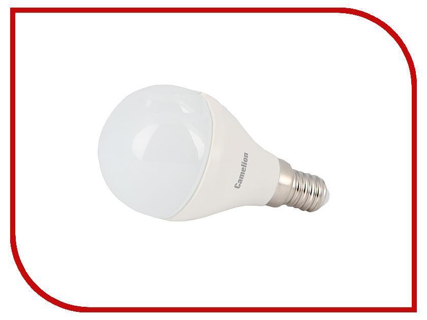Лампочка Camelion G45 6.5W 220V E14 3000K 560 Lm LED6.5-G45/830/E14