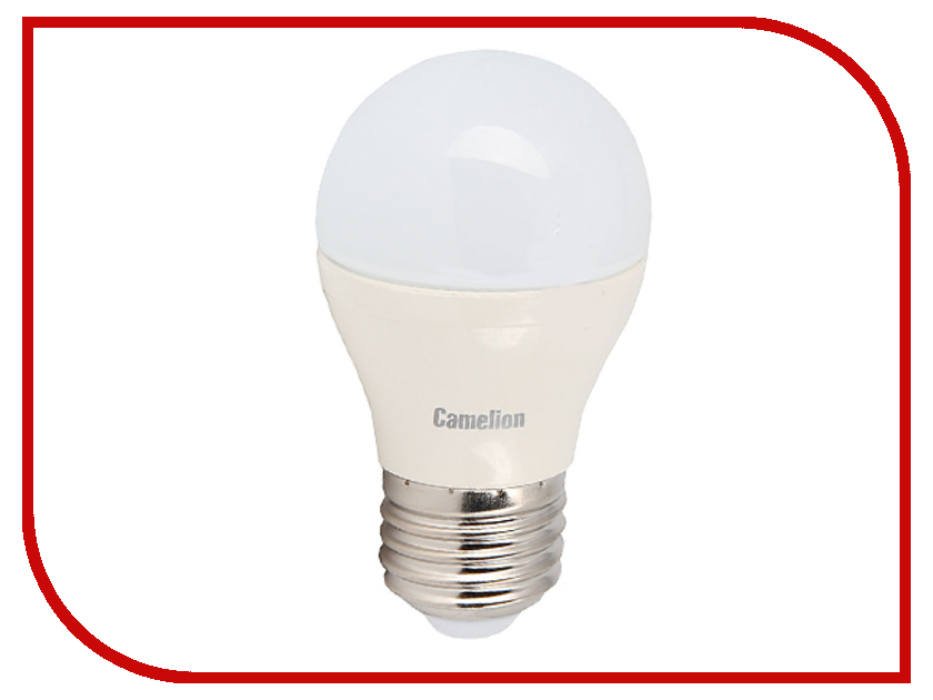 Лампочка Camelion G45 6.5W 220V E27 3000K 560 Lm LED6.5-G45/830/E27<br>