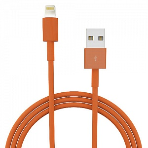 Аксессуар Liberty Project USB 8 pin для iPhone/iPad/iPad mini Orange SM000321