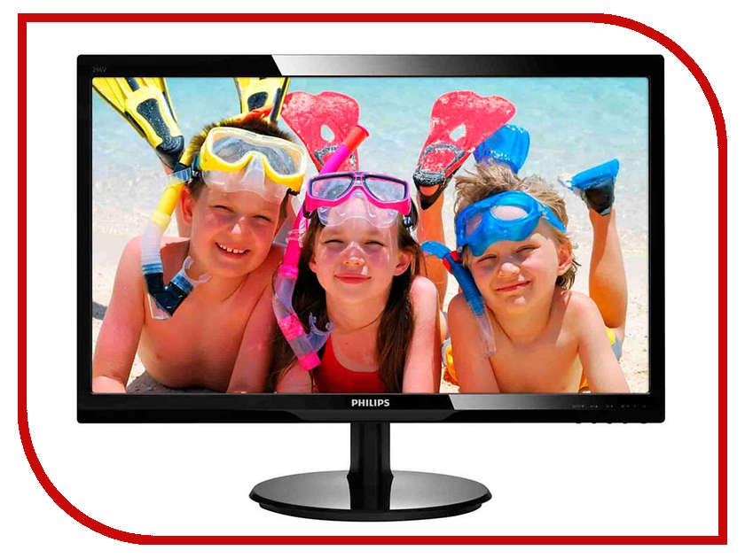 Монитор Philips 246V5LHAB / 00/01 наборы для поделок maxitoys набор для творчества игрушка из фетра совушка