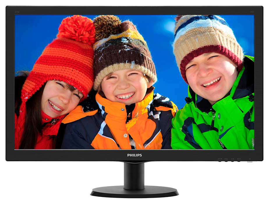 Монитор Philips 273V5LHSB / 00/01 монитор philips 243v7qjabf 00 01