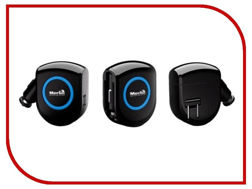 Зарядное устройство Merlin 8in1 Universal Mobile Charger - сетевое , автомобильное аксессуар merlin wifi tunes