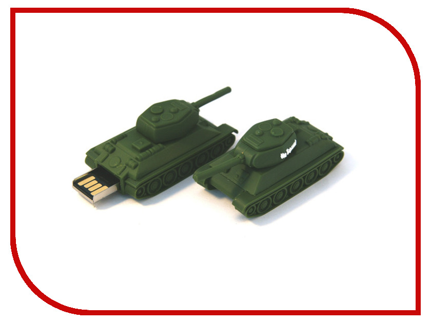 USB Flash Drive 8Gb - Союзмультфлэш Т34-85 На Берлин FM8WR3.41<br>