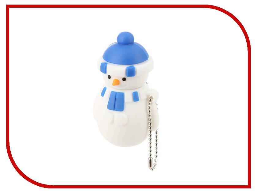 USB Flash Drive 8Gb - Союзмультфлэш Снеговик Blue FM8HD3.04.DB<br>