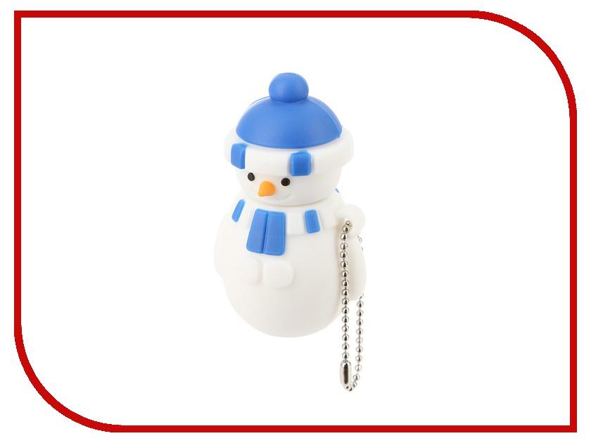 USB Flash Drive 32Gb - Союзмультфлэш Снеговик Blue FM32HD3.04.DB<br>