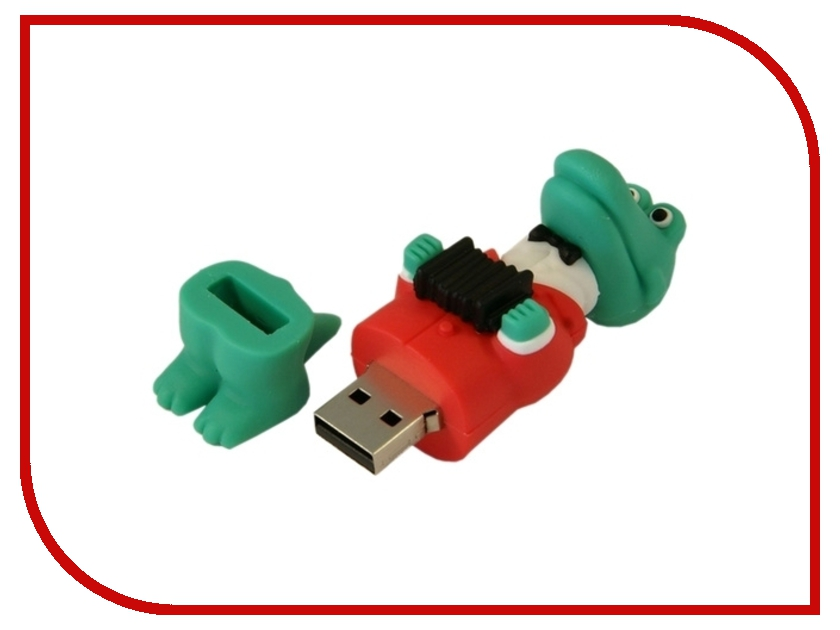 USB Flash Drive 16Gb - Союзмультфлэш Крокодил Гена FM16MT.05<br>