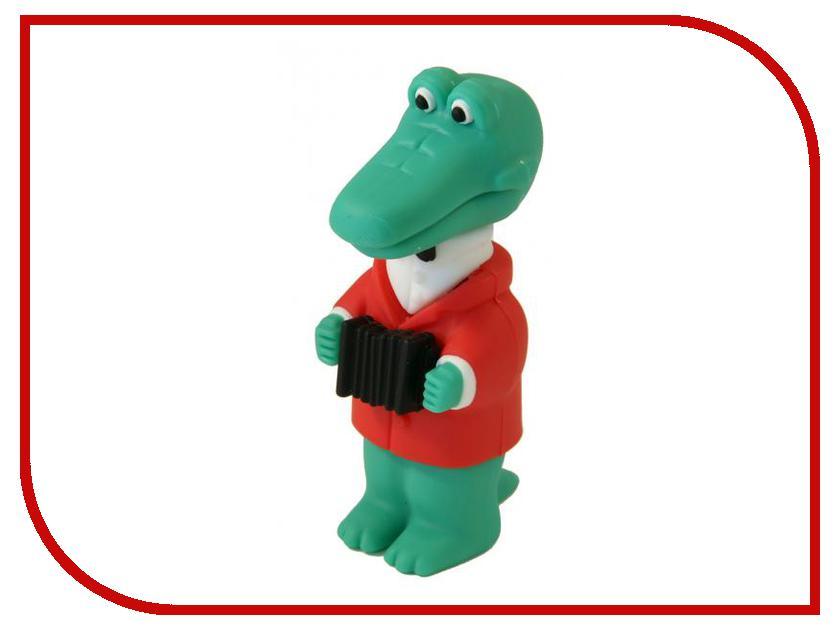 USB Flash Drive 32Gb - Союзмультфлэш Крокодил Гена FM32MT.05<br>