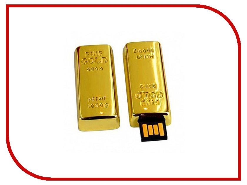 USB Flash Drive 16Gb - Союзмультфлэш Слиток золота маленький FM16A2.94.GLD<br>