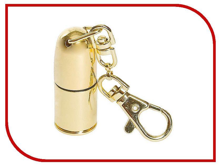USB Flash Drive 16Gb - Союзмультфлэш Пуля Gold FM16WR2.38.GLD<br>