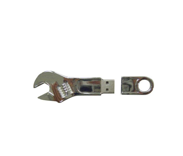 USB Flash Drive 16Gb - Союзмультфлэш Ключ разводной Silver FM16ED2.28.SL<br>