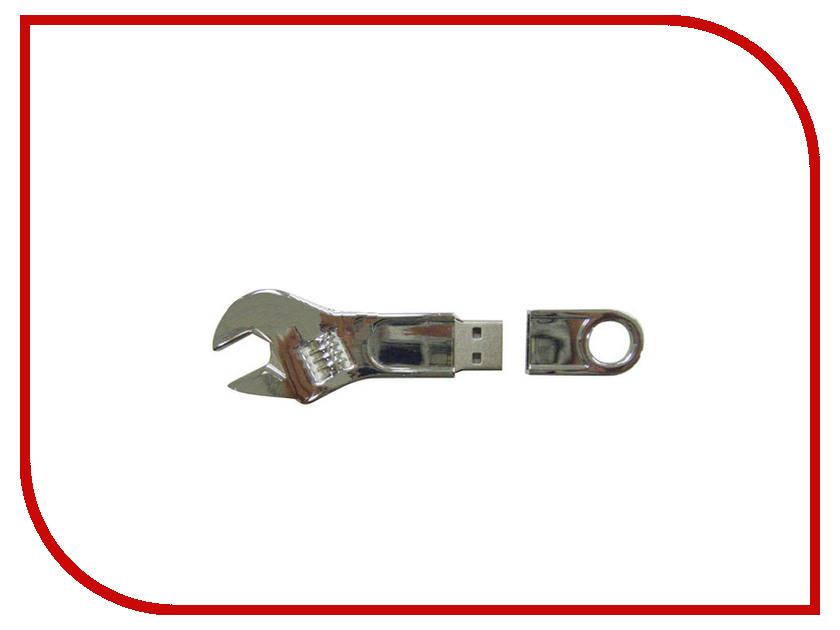 USB Flash Drive 32Gb - Союзмультфлэш Ключ разводной Silver FM32ED2.28.SL<br>