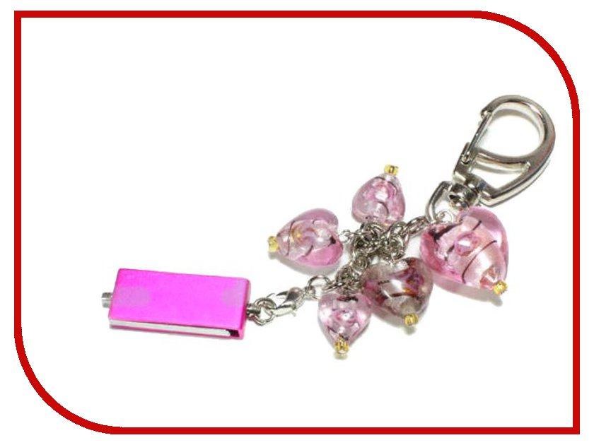 USB Flash Drive 8Gb - Союзмультфлэш Сердце Pink FM8SW2.10.PK<br>
