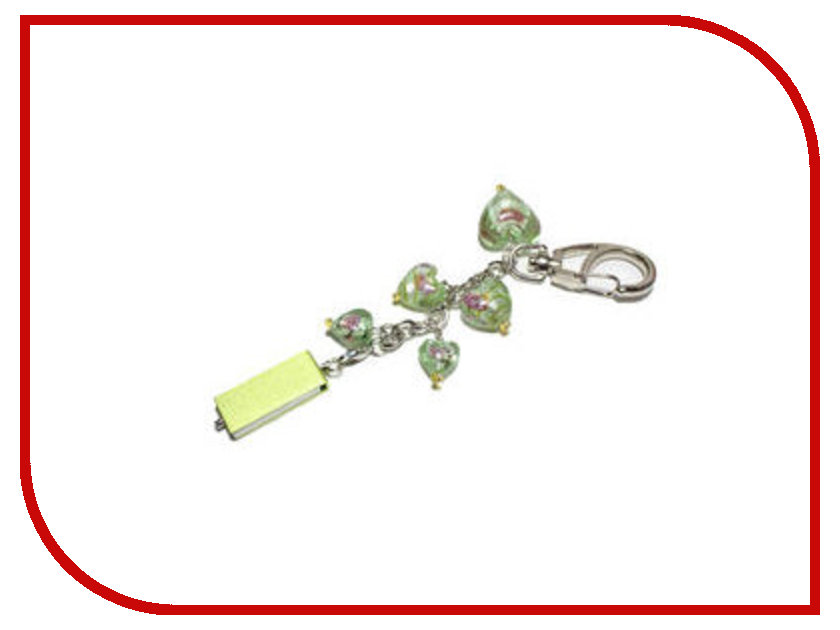 USB Flash Drive 8Gb - Союзмультфлэш Сердце Green FM8SW2.10.G<br>