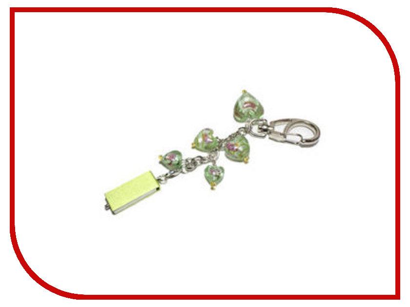 USB Flash Drive 32Gb - Союзмультфлэш Сердце Green FM32SW2.10.G<br>