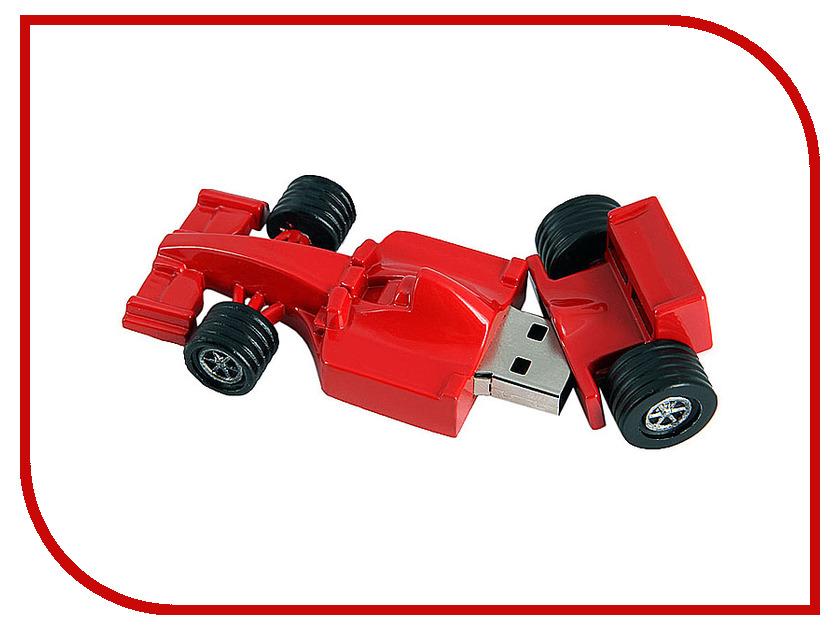 USB Flash Drive 8Gb - Союзмультфлэш Формула 1 Red FM8ED2.06.R<br>