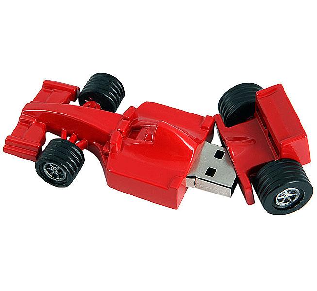 USB Flash Drive 8Gb - Союзмультфлэш Формула 1 Red FM8ED2.06.R