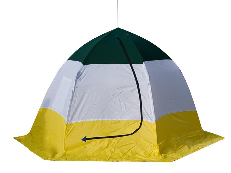 Палатка Trout Pro Ice Shelter 3-местная 68051 от Pleer