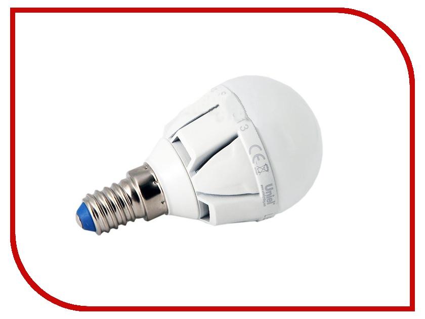 Лампочка Uniel Palazzo LED-G45-6W/NW/E14/FR ALP01WH 600 Lm (белый, 4500K)<br>