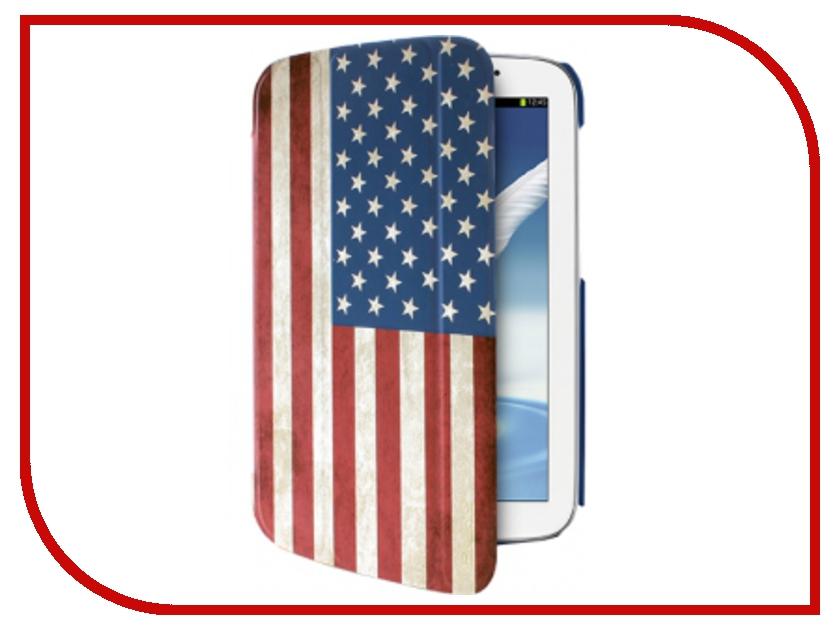 Аксессуар Чехол Samsung Galaxy Tab 3-7.0 PURO Zeta Slim USA Flag GTAB37ZETASUSA