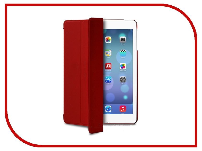 ��������� ����� APPLE iPad Air PURO Zeta Slim w/ Magnet & Stand up Red IPAD5ZETASRED