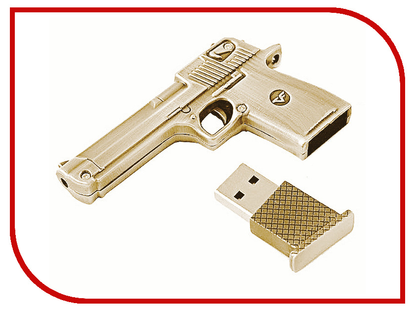 USB Flash Drive 32Gb - Союзмультфлэш Пустынный Орел Silver пистолет FM32WR2.35.SL<br>