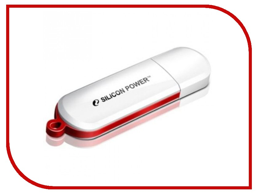 USB Flash Drive (флешка) LuxMini 320  USB Flash Drive 16Gb - Silicon Power LuxMini 320 White SP016GBUF2320V1W
