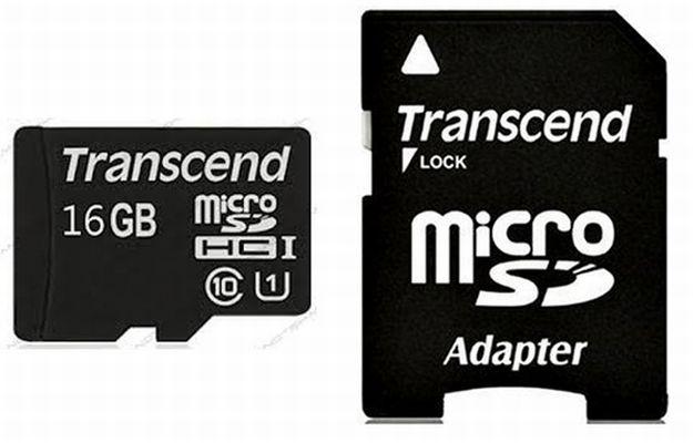 Фото - Карта памяти 16Gb - Transcend - Micro Secure Digital HC Class 10 UHS-I Ultimate TS16GUSDHC10U1 с переходником под SD карта памяти transcend micro sdhc ultimate 600x 16gb class 10 переходник в комплекте ts16gusdhc10u1