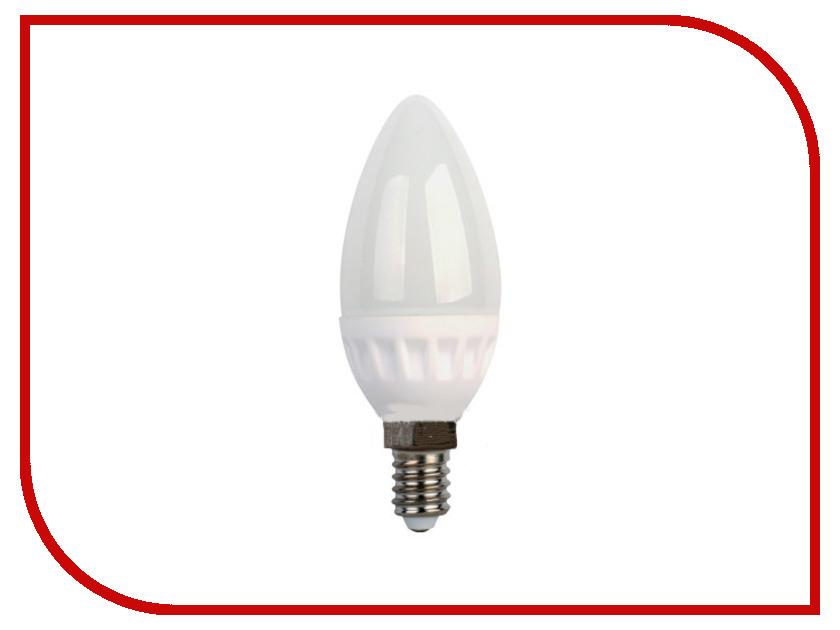 Лампочка Ecola Candle LED E14 3.5W 220V 4000K керамика C4LV35ELC<br>