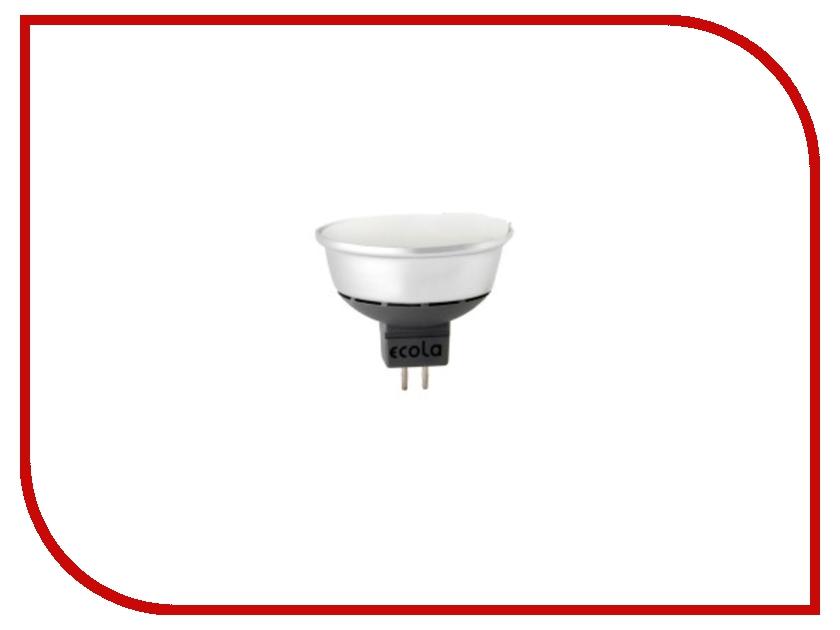 Лампочка Ecola Light MR16 LED GU5.3 4.0W 220V 2800K матовое стекло M2TW40ELC<br>