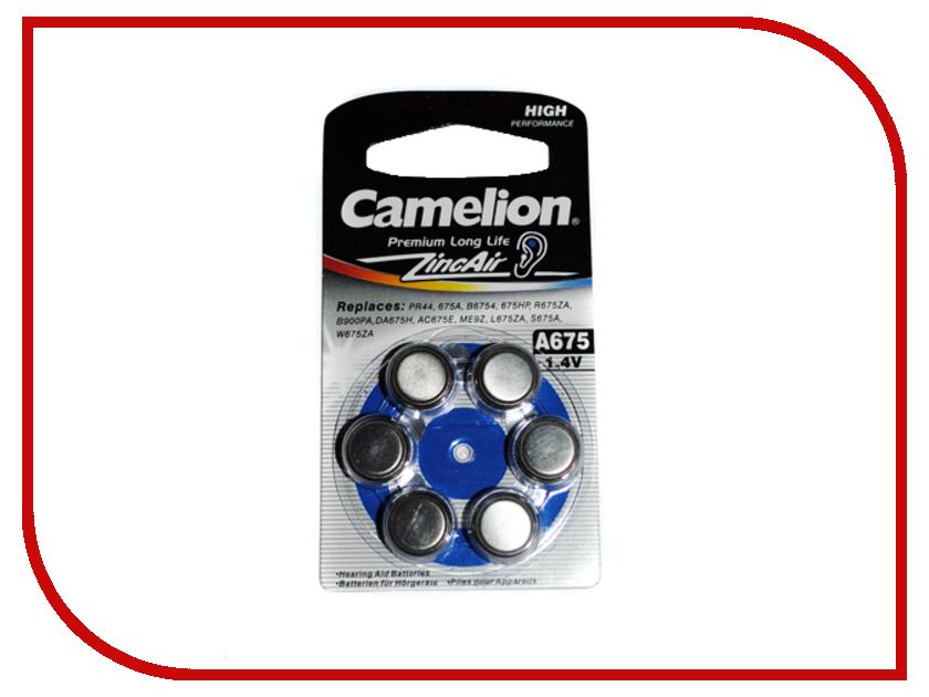 Аксессуар Батарейки Camelion ZA675 BL-6 / A675-BP6 1.4V 620mAh велосипед scott scale rc jr 2016