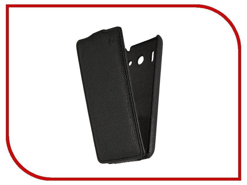 Аксессуар Чехол Huawei U8951 Ascend G510 Partner Flip-case Black<br>