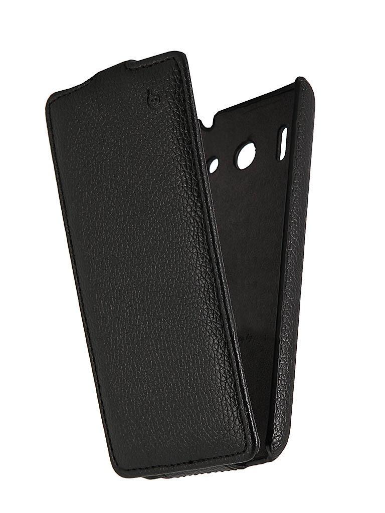 ��������� ����� Huawei U8951 Ascend G510 Partner Flip-case Black