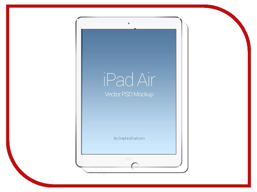 Аксессуар Защитная пленка LuxCase для iPad Air / Air 2 суперпрозрачная 80983 защитная плёнка для htc desire 650 суперпрозрачная luxcase