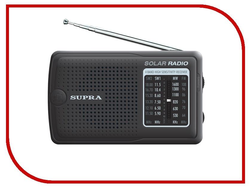 Радиоприемник SUPRA ST-111 Black