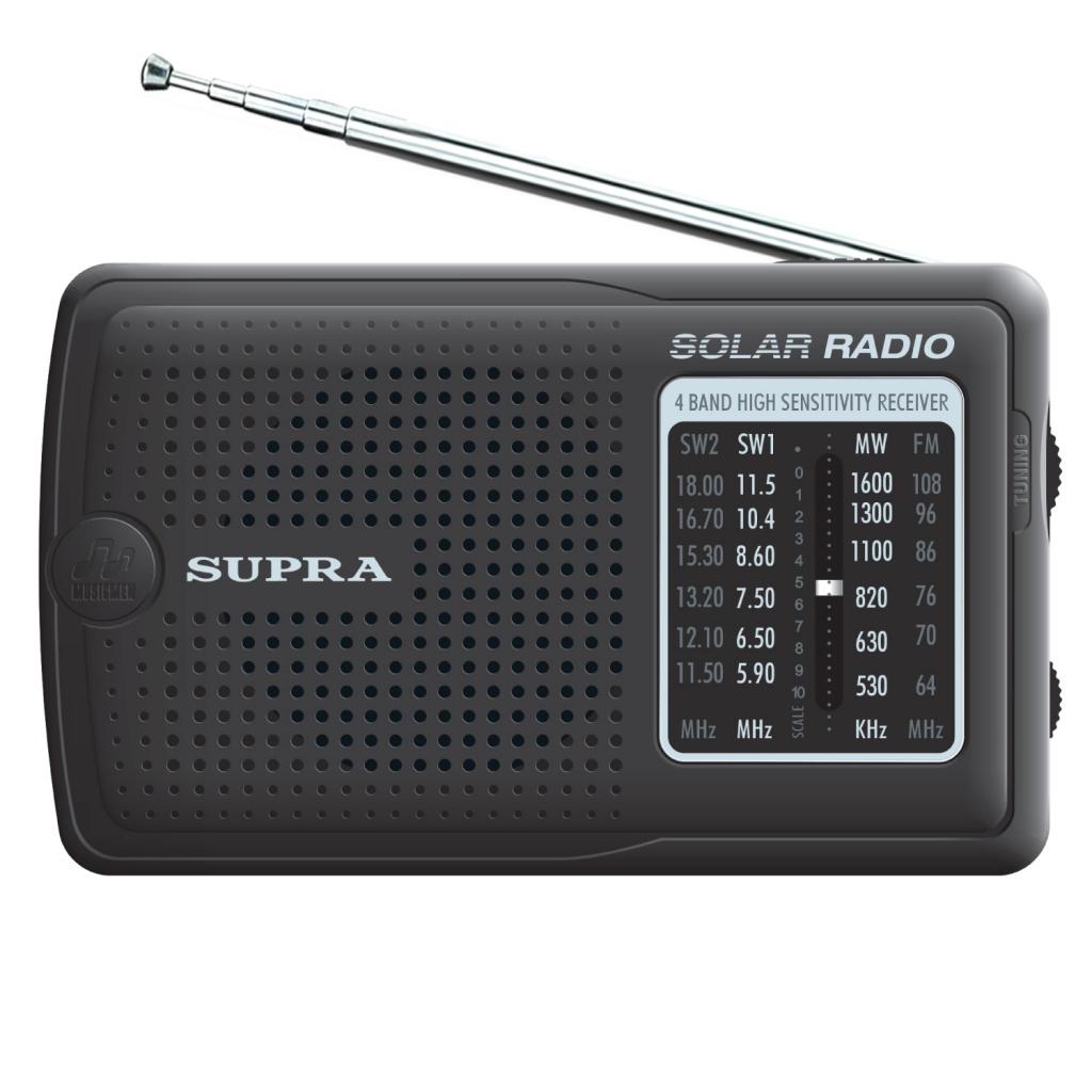 Радиоприемник SUPRA ST-111 Black от Pleer