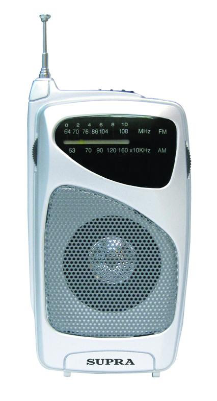 Радиоприемник SUPRA ST-114 Silver<br>
