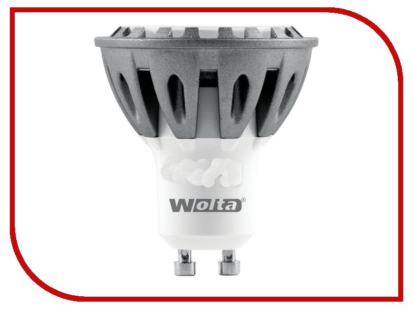 Лампочка Wolta LED-PAR16/5W/3000K/GU10 30YPAR16-230-5GU10<br>